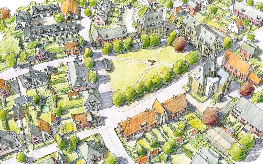 Fijne stad peter verschuren stedenbouwkundig ontwerp en for Ontwerp plattegrond